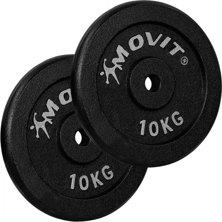 MOVIT sada závaží 2 x 10 kg, litina
