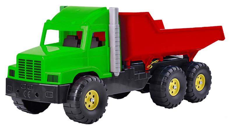 Auto nákladní 77cm zeleno-červené sklápěčka na písek plast