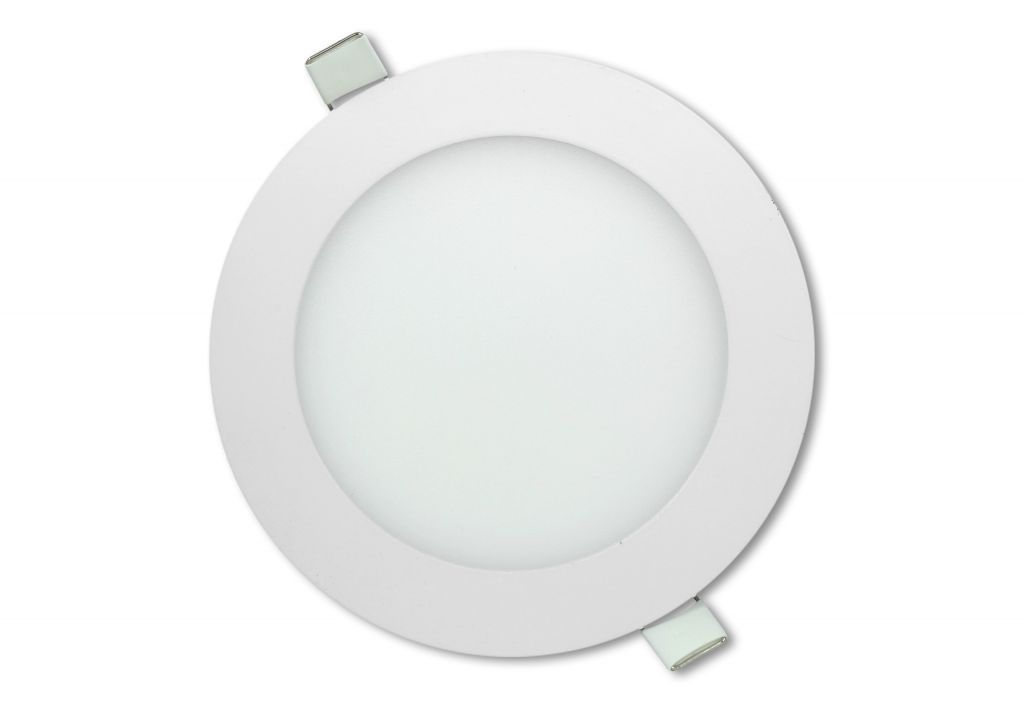 LED stropní panel kulatý 12 W, neutrální bílá