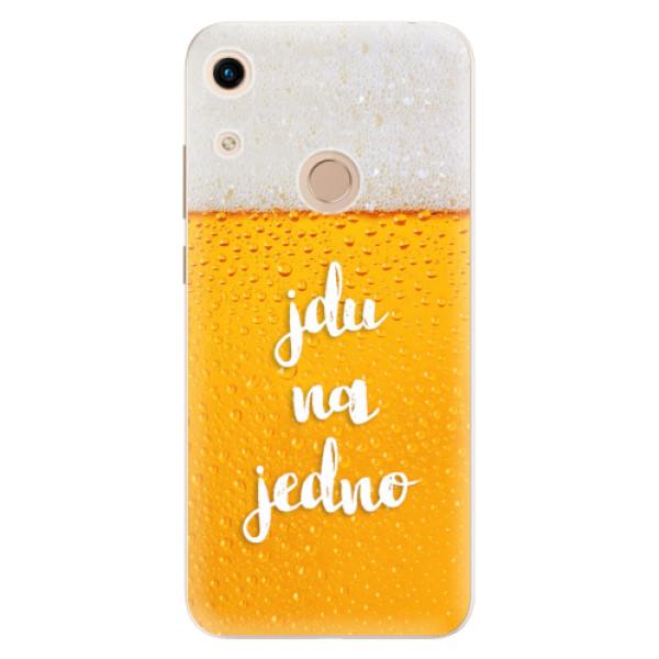 Odolné silikonové pouzdro iSaprio - Jdu na jedno - Huawei Honor 8A
