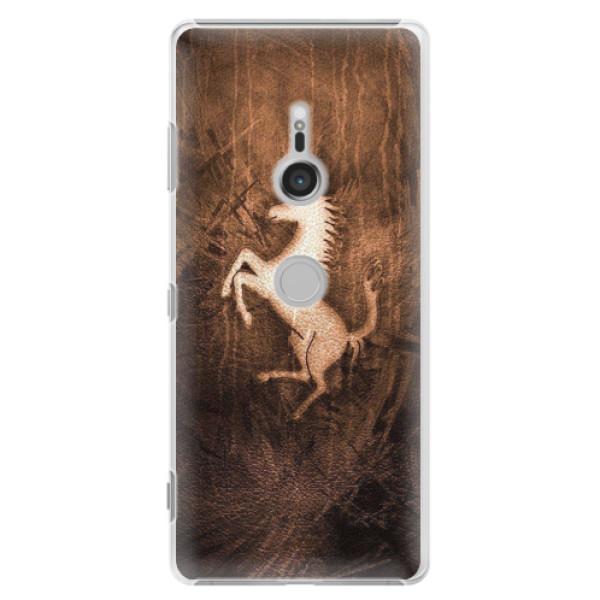 Plastové pouzdro iSaprio - Vintage Horse - Sony Xperia XZ3