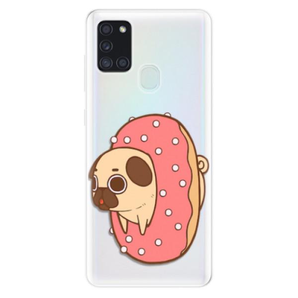 Odolné silikonové pouzdro iSaprio - Dog 04 - Samsung Galaxy A21s