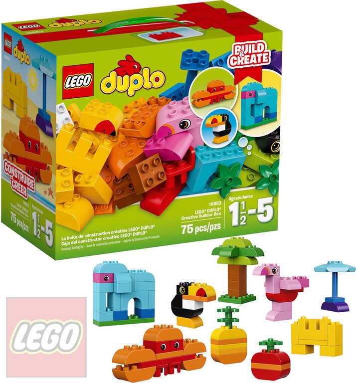 LEGO DUPLO Kreativní box pro stavitele 10853 STAVEBNICE