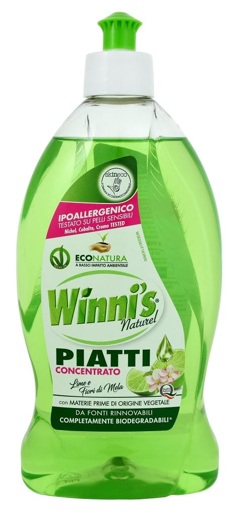 WINNIS Piatti Lime eko mycí prostředek na nádobí 500 ml