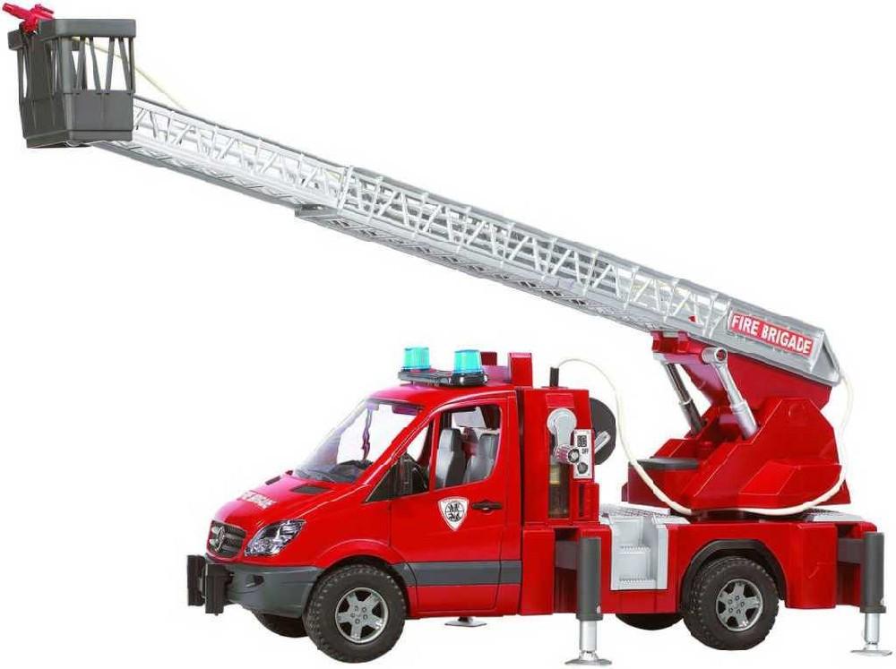 BRUDER 02532 (2532) Auto MERCEDES BENZ Sprinter - požární žebřík
