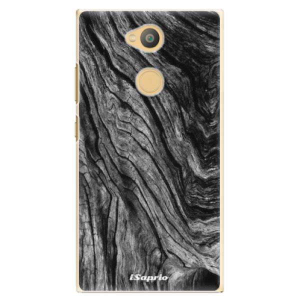 Plastové pouzdro iSaprio - Burned Wood - Sony Xperia L2