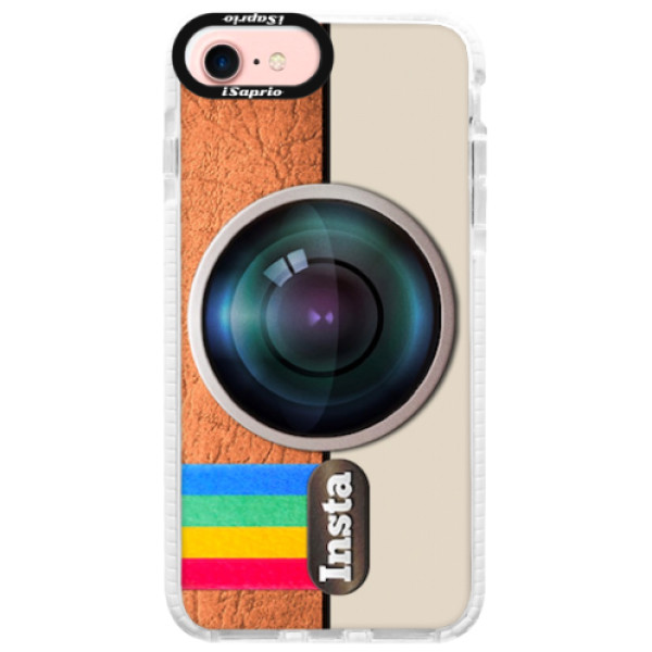 Silikonové pouzdro Bumper iSaprio - Insta - iPhone 7