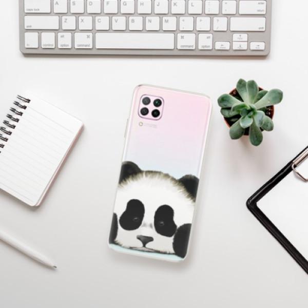 Odolné silikonové pouzdro iSaprio - Sad Panda - Huawei P40 Lite