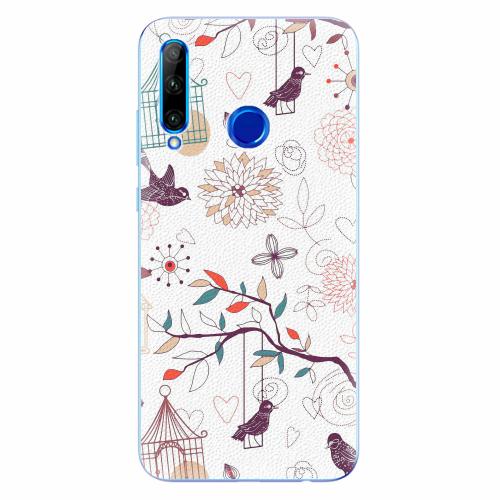 Silikonové pouzdro iSaprio - Birds - Huawei Honor 20 Lite