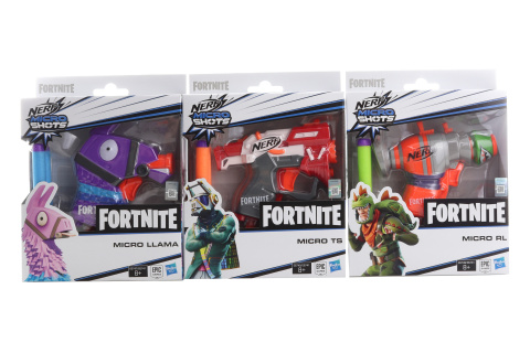 Nerf Microshots Fortnite TV 1.5.-30.8.2019