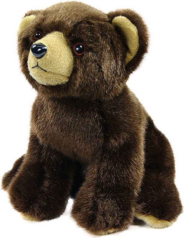PLYŠ Medvídek 18cm hnědý sedící *PLYŠOVÉ HRAČKY*