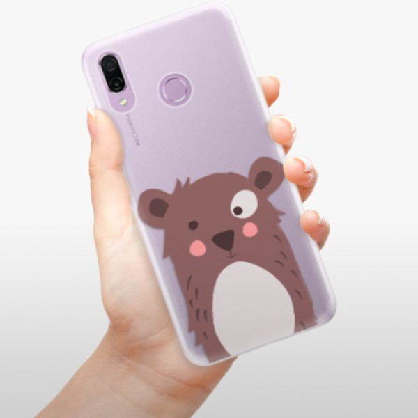 Silikonové pouzdro iSaprio - Brown Bear - Huawei Honor Play