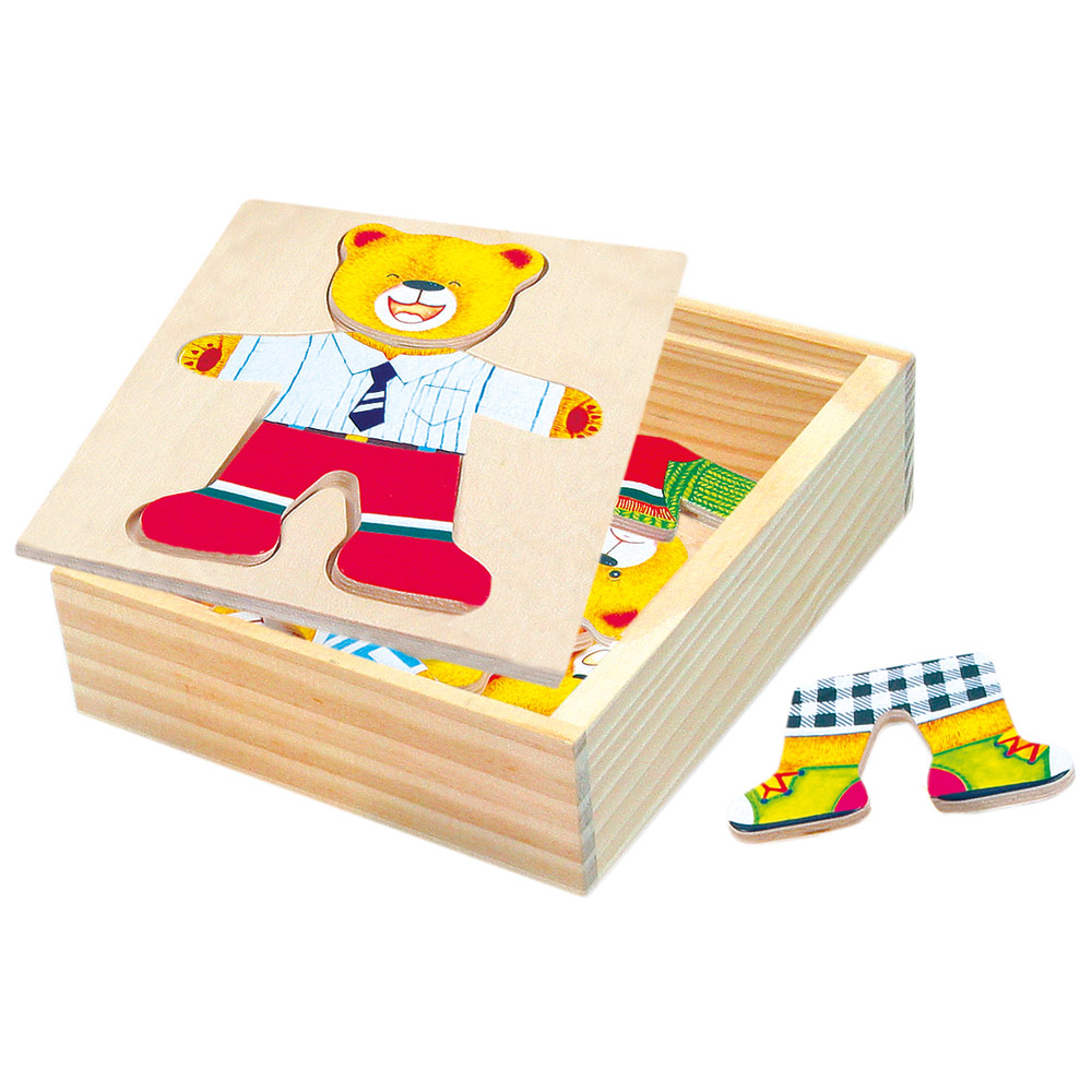 Šatní skříň medvídek - puzzle