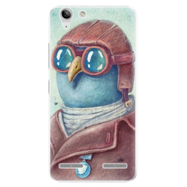Plastové pouzdro iSaprio - Pilot twitter - Lenovo Vibe K5