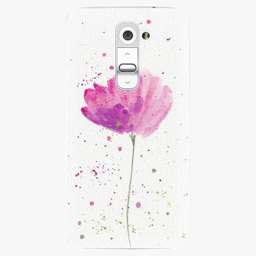 Plastový kryt iSaprio - Poppies - LG G2 (D802B)