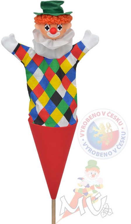 MORAVSKÁ ÚSTŘEDNA Kornout Klaun Logo