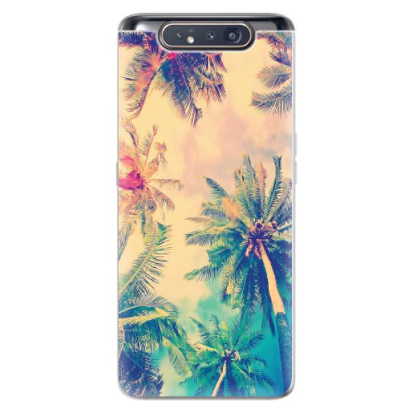Odolné silikonové pouzdro iSaprio - Palm Beach - Samsung Galaxy A80