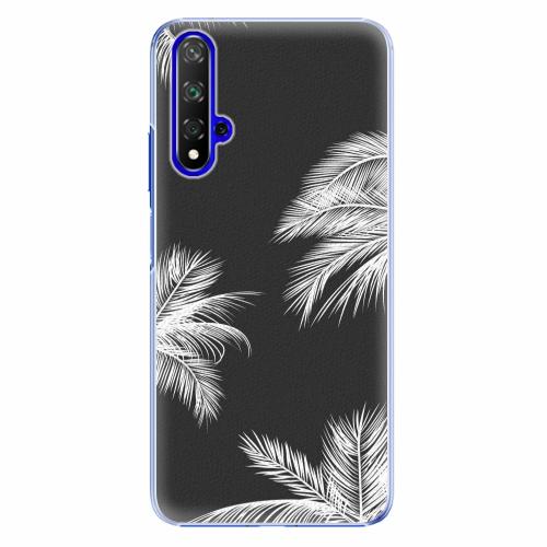 Plastový kryt iSaprio - White Palm - Huawei Honor 20