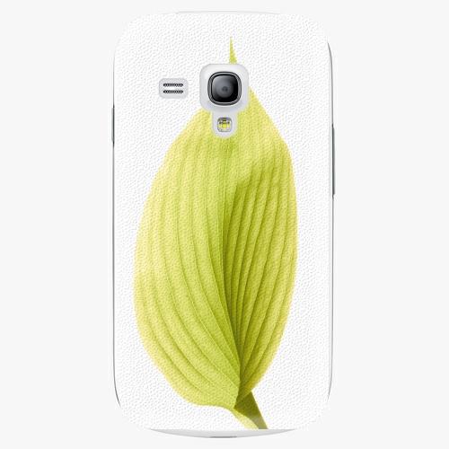 Plastový kryt iSaprio - Green Leaf - Samsung Galaxy S3 Mini