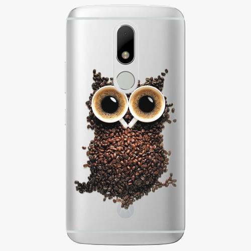 Plastový kryt iSaprio - Owl And Coffee - Lenovo Moto M