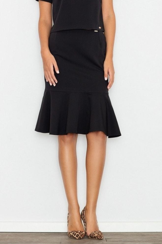 Dámská sukně FIGL M538 černá - S