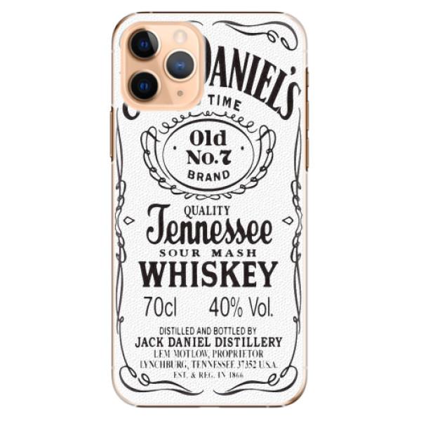 Plastové pouzdro iSaprio - Jack White - iPhone 11 Pro