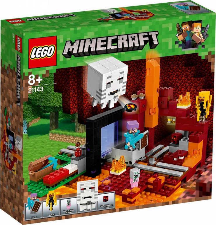 LEGO MINECRAFT Podzemní brána 21143 STAVEBNICE