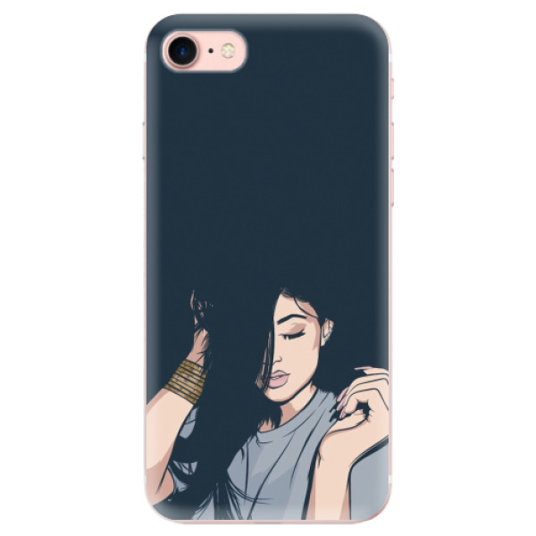Odolné silikonové pouzdro iSaprio - Swag Girl - iPhone 7