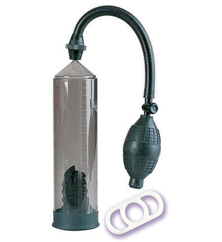 Vakuová pumpa s elastickým kroužkem