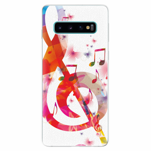 Silikonové pouzdro iSaprio - Love Music - Samsung Galaxy S10