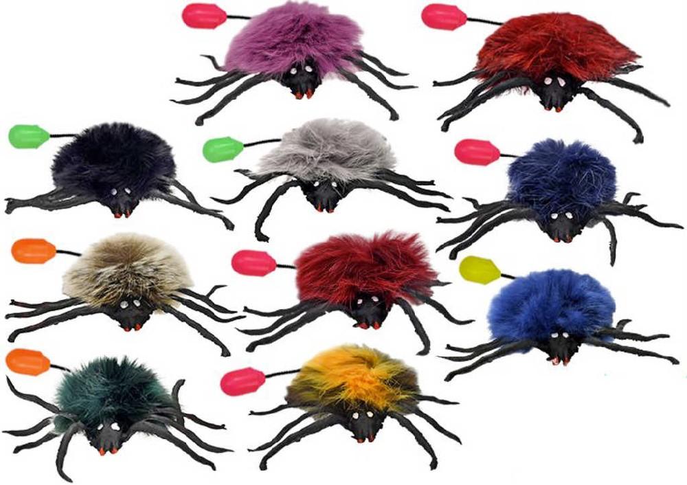 Pavouk 10 cm skákací retro 10 barev