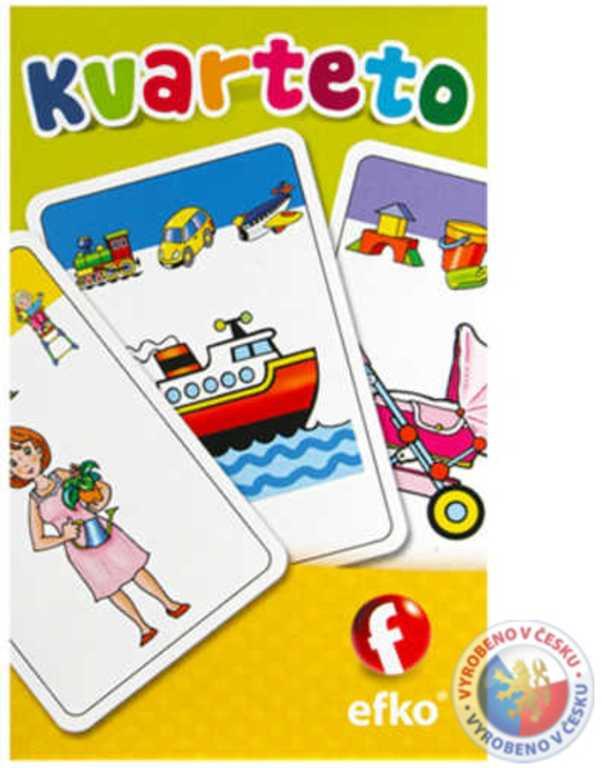 EFKO BABY Kvarteto dětská karetní hra