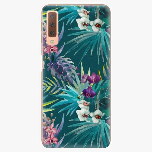 Plastový kryt iSaprio - Tropical Blue 01 - Samsung Galaxy A7 (2018)