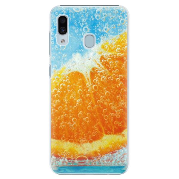 Plastové pouzdro iSaprio - Orange Water - Samsung Galaxy A30