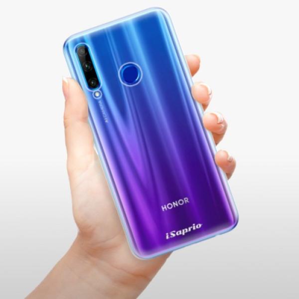 Odolné silikonové pouzdro iSaprio - 4Pure - mléčný bez potisku - Huawei Honor 20 Lite