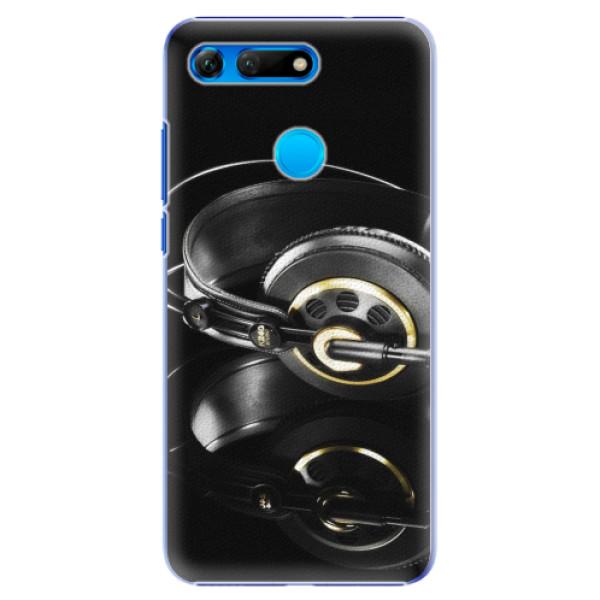 Plastové pouzdro iSaprio - Headphones 02 - Huawei Honor View 20