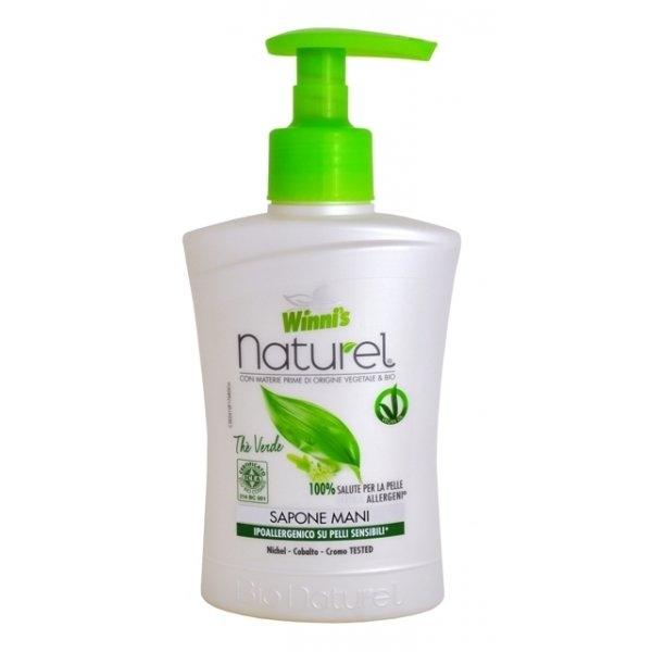 WINNIS Naturel tekuté mýdlo se zeleným čajem a aloe vera 250 ml