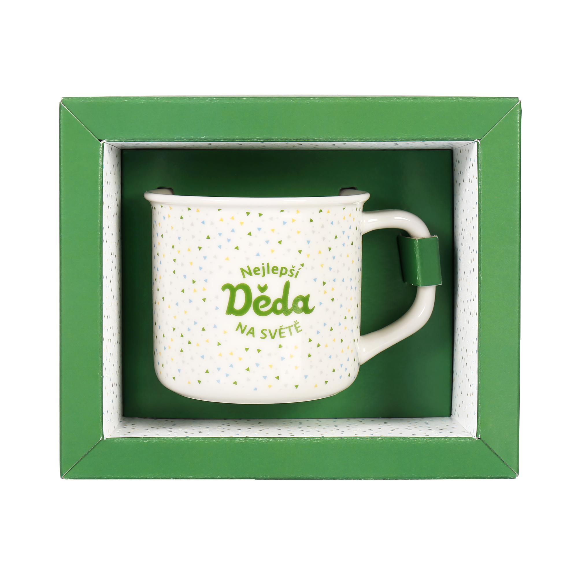 Sada hrnku s čajem - Děda