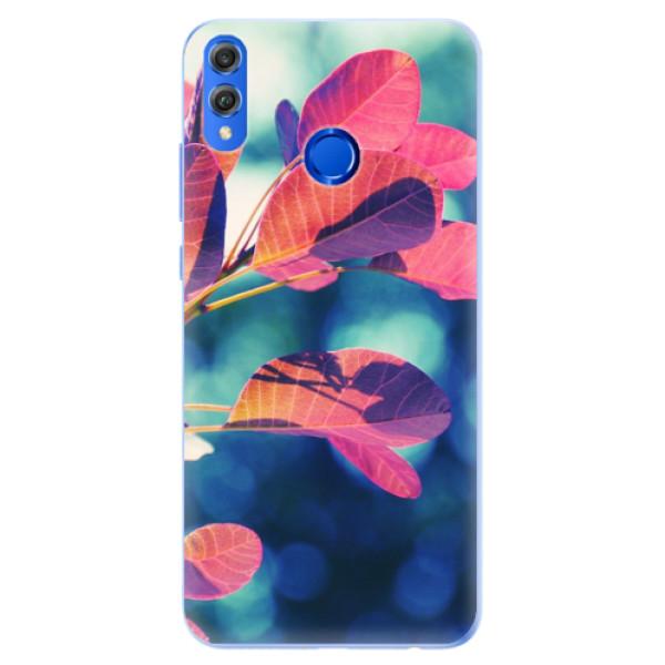 Silikonové pouzdro iSaprio - Autumn 01 - Huawei Honor 8X