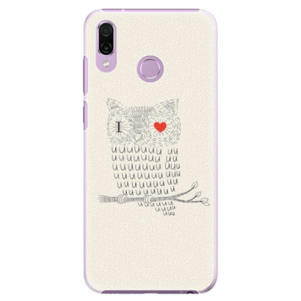 Plastové pouzdro iSaprio - I Love You 01 - Huawei Honor Play