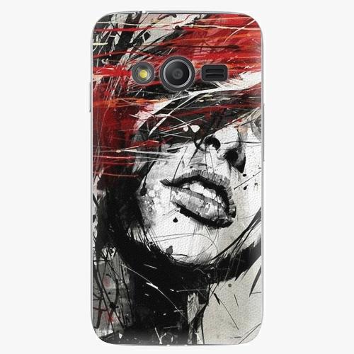 Plastový kryt iSaprio - Sketch Face - Samsung Galaxy Trend 2 Lite
