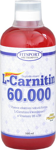 L-Carnitin 60000 - 500ml-pomeranc