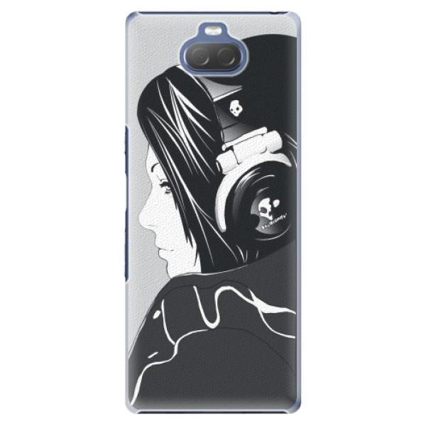 Plastové pouzdro iSaprio - Headphones - Sony Xperia 10