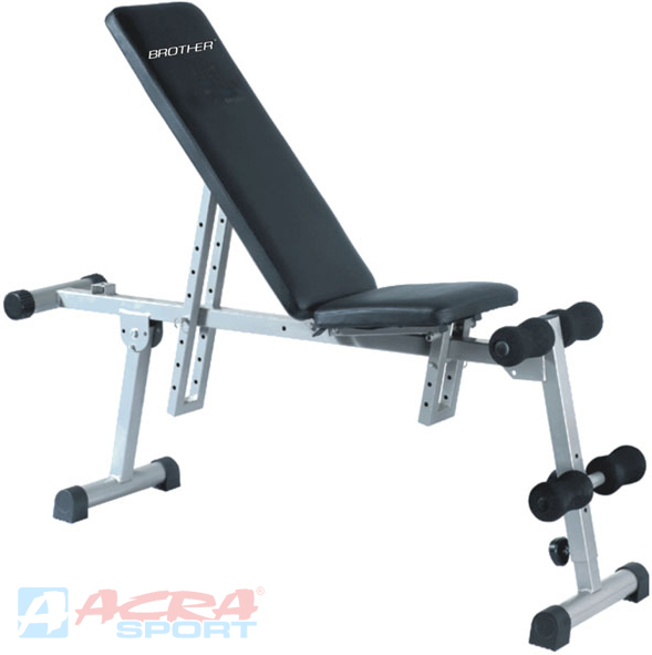 ACRA Fitness lavice víceúčelová posilovací sit-up-bench Brother KH666