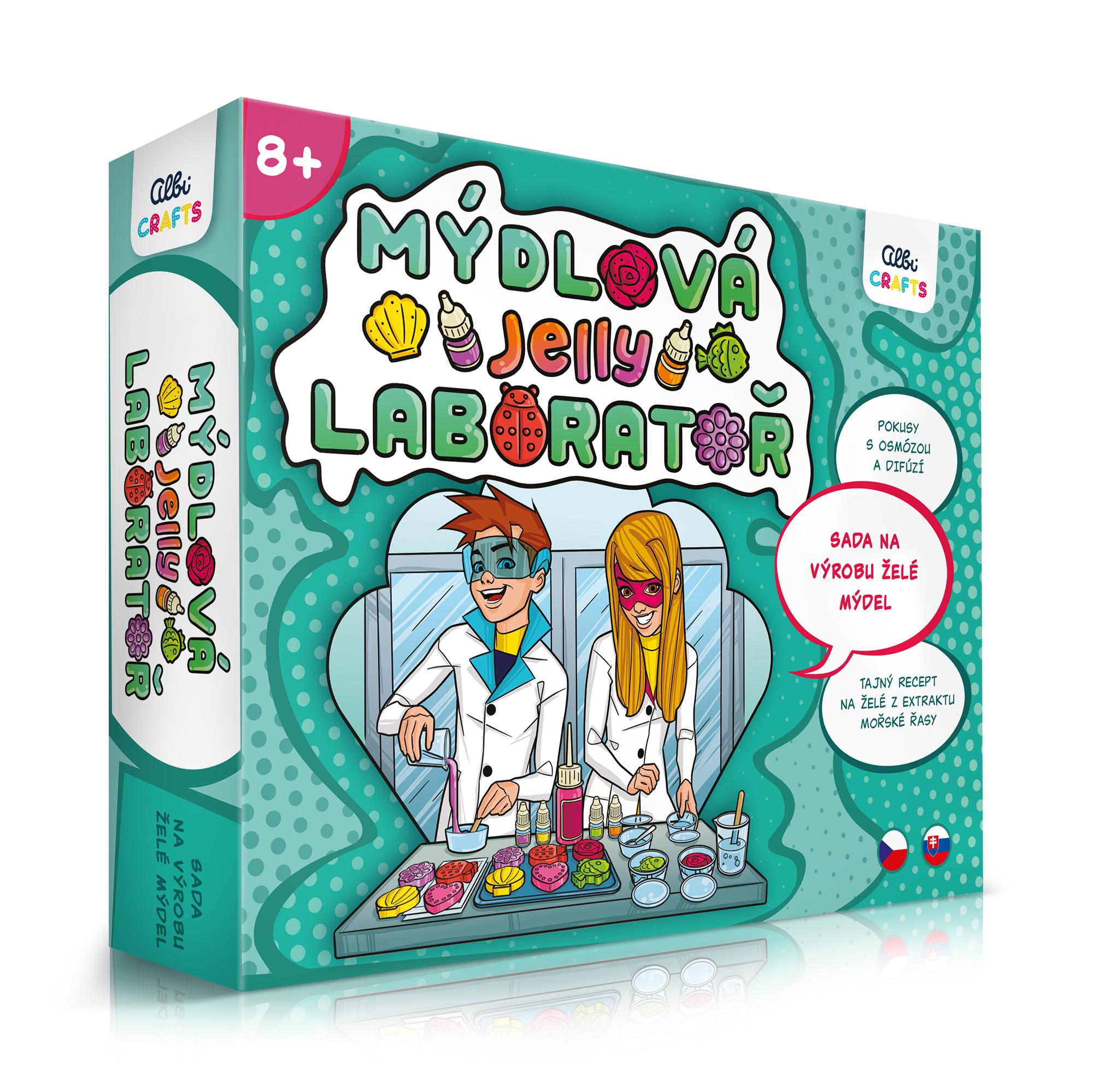 Mýdlová laboratoř - Jelly