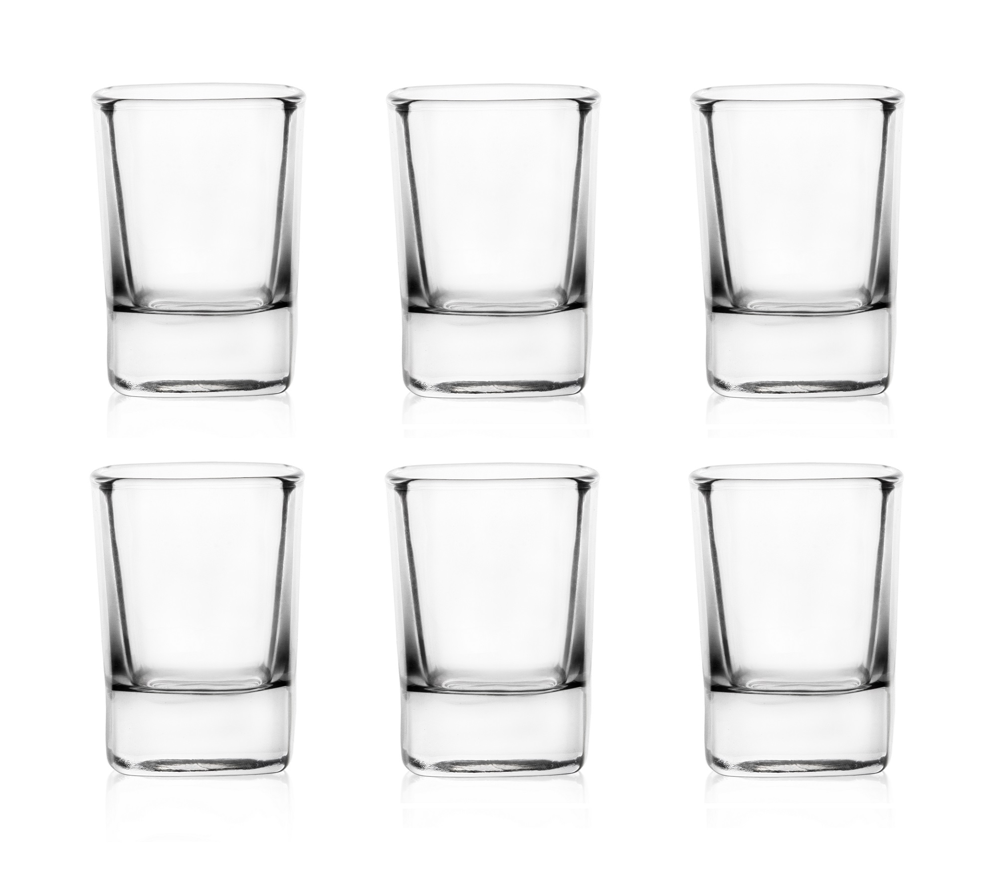 Sada 6 panáků na alkohol - 50ml