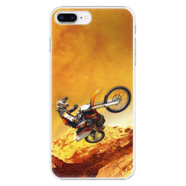 Plastové pouzdro iSaprio - Motocross - iPhone 8 Plus