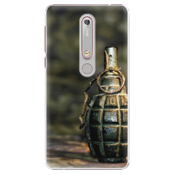 Plastové pouzdro iSaprio - Grenade - Nokia 6.1