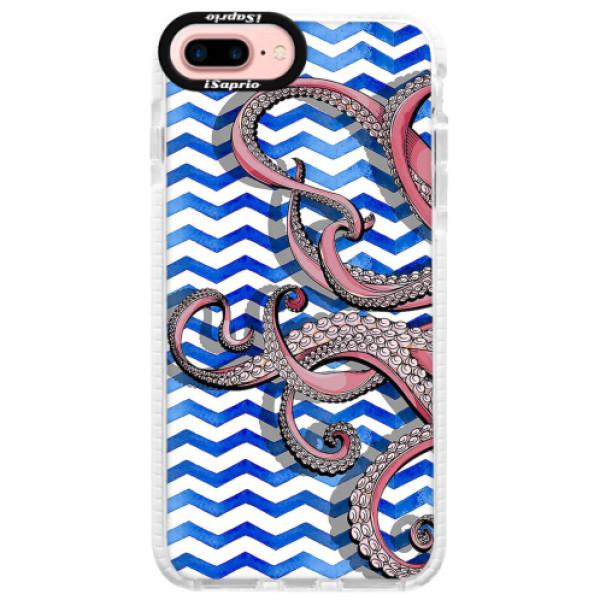 Silikonové pouzdro Bumper iSaprio - Octopus - iPhone 7 Plus