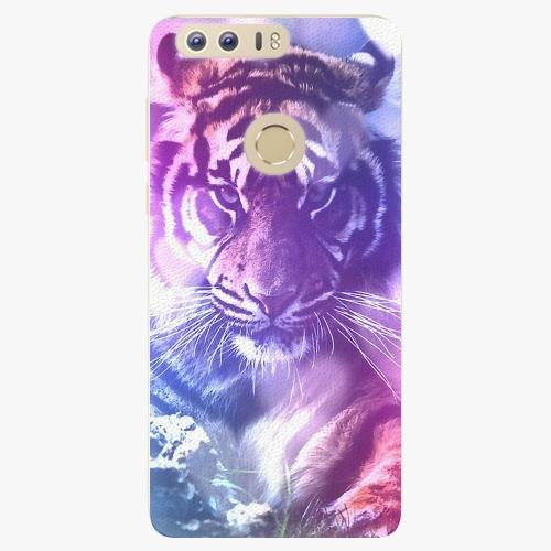 Plastový kryt iSaprio - Purple Tiger - Huawei Honor 8